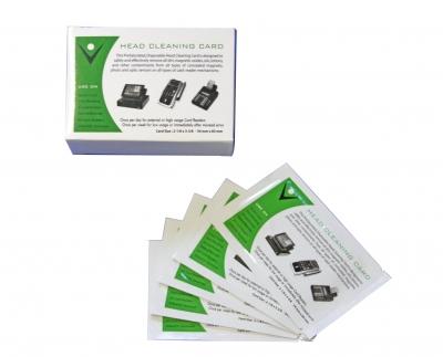 Reinigungskarte CR80 Cleaning card CR80
