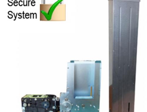 KSC-2300 Kartenspender mit Sicherheitswechselmagazin für RFID