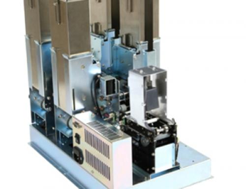 BIM-7000 Kartenspender mit Barcodeleser und 4 Wechselmagazinen