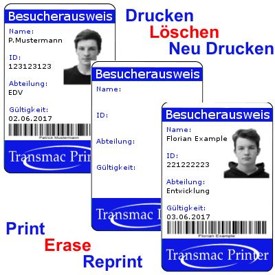 TRW Karten TRW card