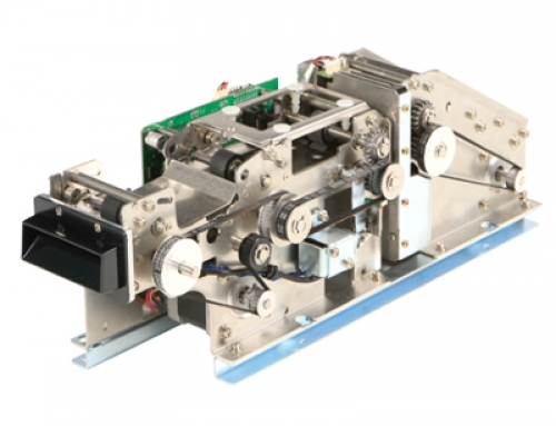 TIM-3000 Ticketdrucker RFID oder Barcode Leporellokarten